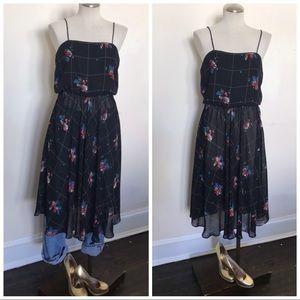 Vintage '80's semi sheer dress